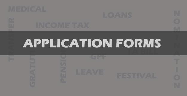 BSNL Employee Application Forms
