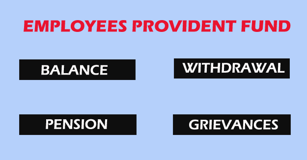 EPF Member Services for an Employee