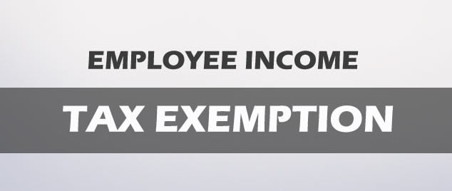 TAX EXEMPTION ON VARIOUS ITEMS