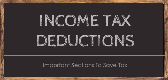 Income Tax Deduction Section 80 C D E