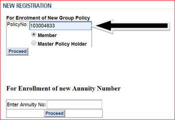 BSNL Group Term Insurance Master Policy Number