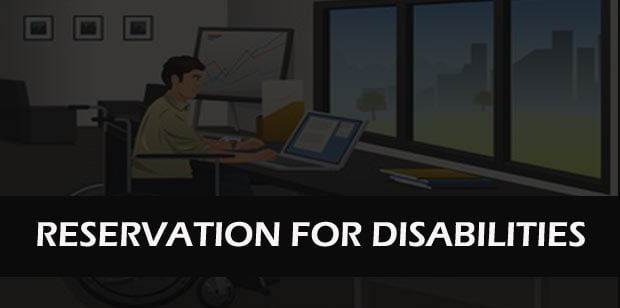 Central Government Disabilities Reservation