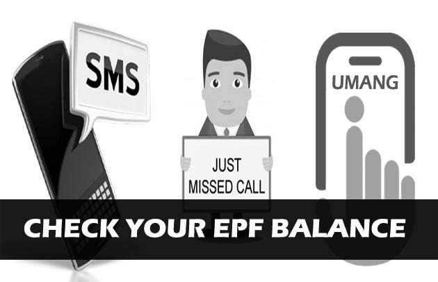 Check EPF Balance withour UAN number in different ways