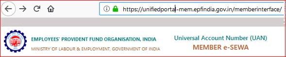 EPF Member Portal Link